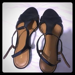 Worn once - Nine West Sandals
